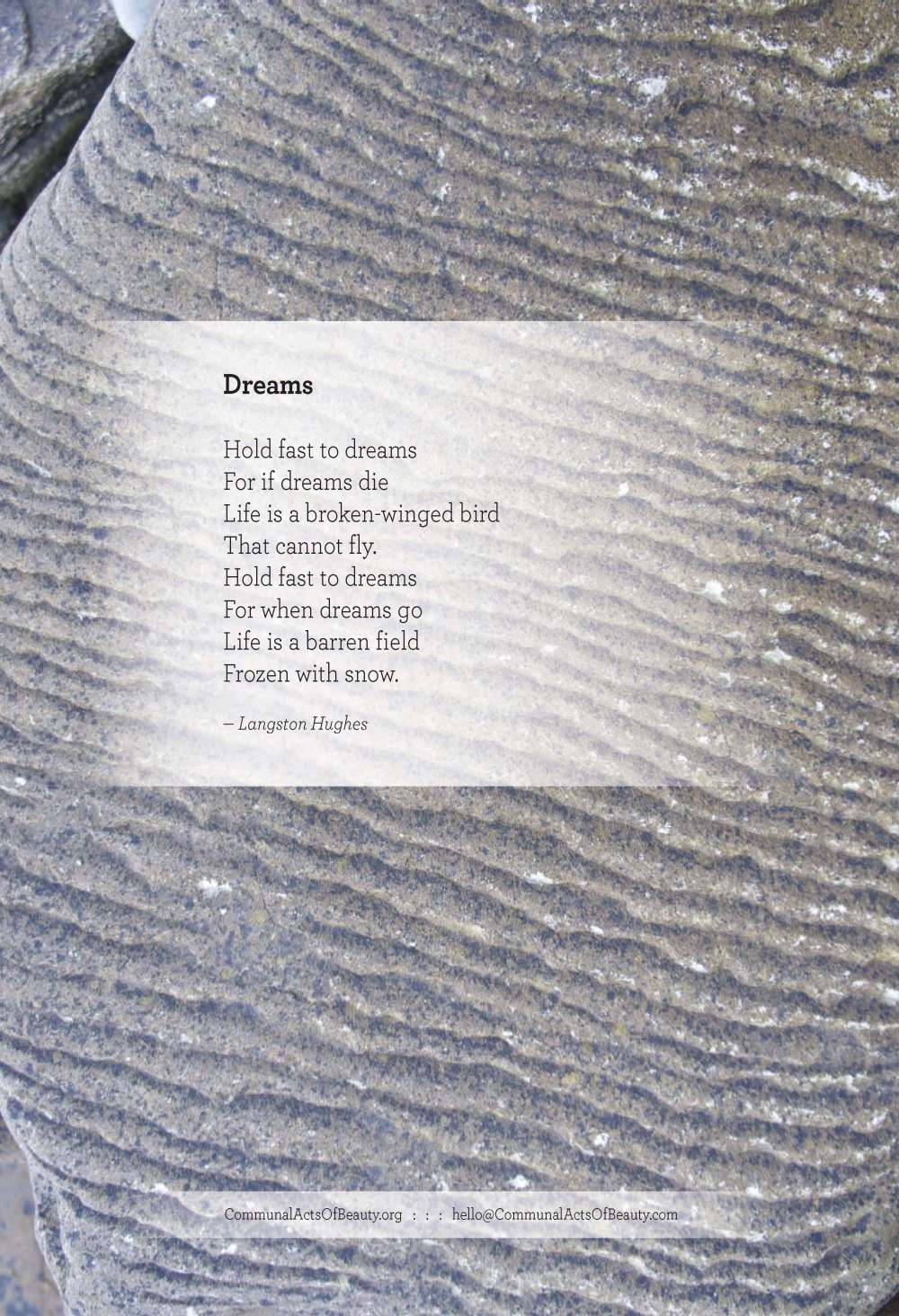 Dreams_LangstonHughes_small